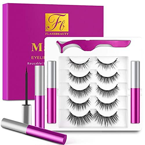 MARCIA Beauty Lashes 100 (Model 1) wiederverwendbare künstliche 3D Fake Falsche Premium Wimpern, 1 Paar, Designed by Marci