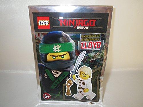 Blue Ocean Lego Ninjago Ninja Figur LLOYD mit zwei Gesichtern und Ninja-Schwert - Limited Edition - 471701 - Polybag -