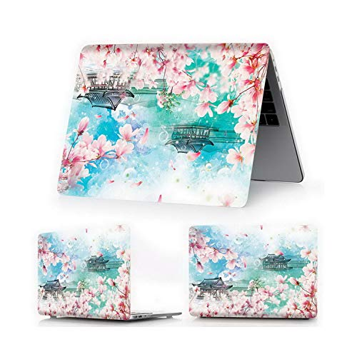 U-see Laptop Case for MacBook Air Pro Retina 11 12 13 15 inch Cover for MAC 2018 Air 13 Pro 13 15 Touch BarID,Ying Hua Y11,Pro13 A1706A1989