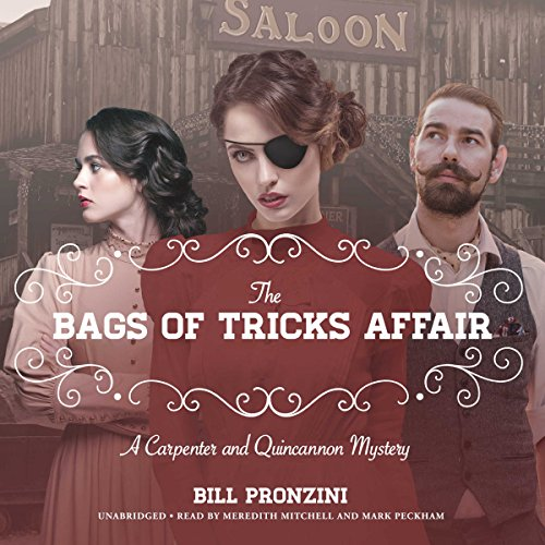 The Bags of Tricks Affair audiobook cover art