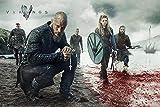 Póster Vikigs/Vikingos 'Blood Landscape' (Paisaje Sangriento) (91,5cm x 61cm) + 1 póster sorpresa de regalo