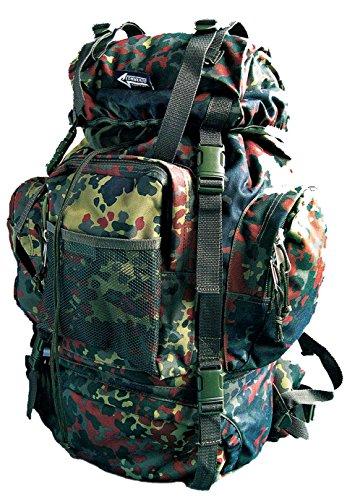 Commando Industries CI Tactical Ruckasck mit Alu Versteifung 65 Liter (Flecktarn)