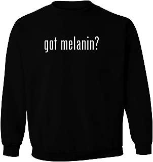 got melanin? - Men's Pullover Crewneck Sweatshirt