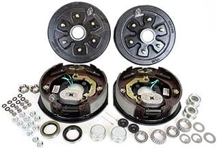 Southwest Wheel 3,500 lbs. Trailer Axle Electric Brake Kit 6-5.5 Bolt Circle