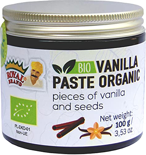 Pâte de Vanille Biologique/100 g/ BIO Vanilla Paste