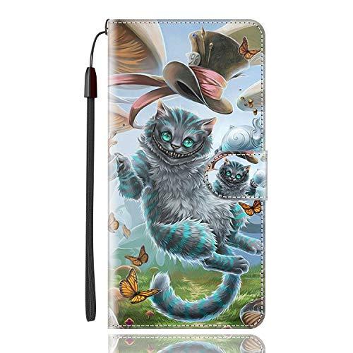 Sinyunron Klapptasche für Handy Motorola Moto G Pro Hülle Leder Handytasche Handyhülle Brieftasche Hüllen Hülle mit Kartenfach & Ständer/Hülle08A