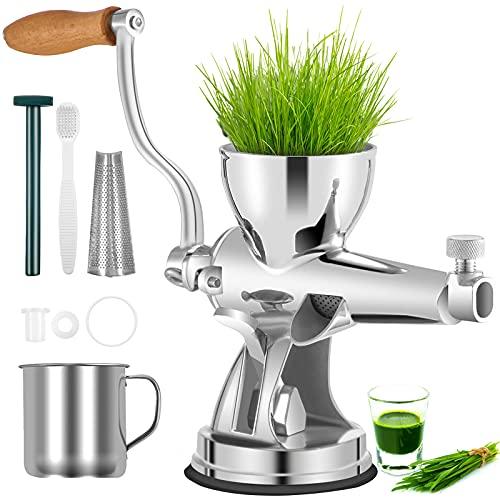 VEVOR Manual Wheatgrass Juicer Stainless...