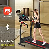 Murtisol Bluetooth T08E6 Folding Treadmill Electric Walking Running Exercise Fitness Machine Easy Control Home Gym,Easy Assembly