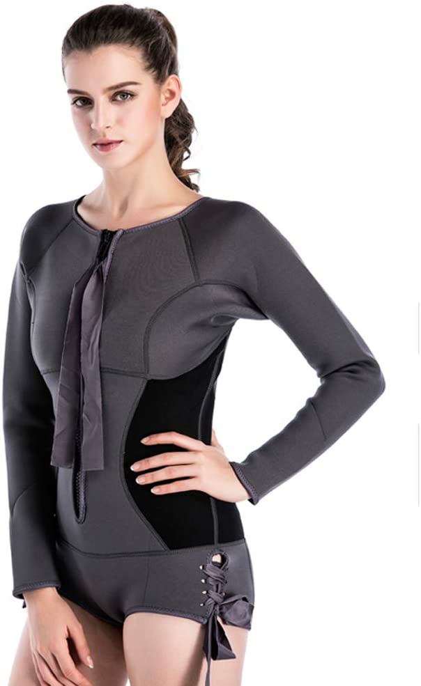Neoprene Recommended Wetsuit Women 2MM Surfing Swimming S Wetsuits Piece Department store One