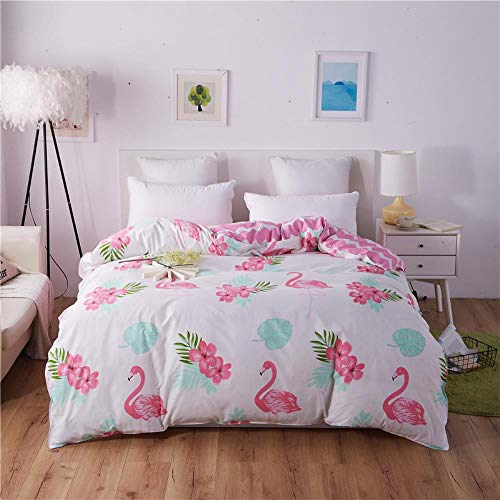 Miwaimao Single-Piece Quilt Quilt University Student Dormitory With Single Double,Fire Bird White Lie,200cmx230cm