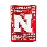 Team Sports America U of Nebraska Fan Rules Garden Flag - 13 x 18 Inches