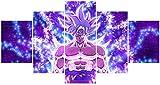 Hunbeauty art Dragon Ball Z Saiyajin Leinwand Poster
