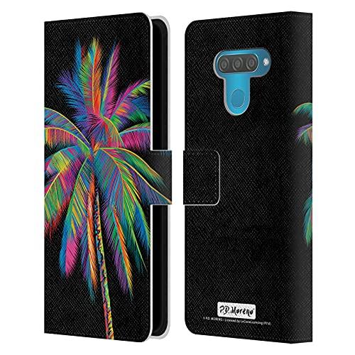 Head Case Designs Licenza Ufficiale P.D. Moreno Palma Designs Assortiti Cover in Pelle a Portagoglio Compatibile con LG Q60