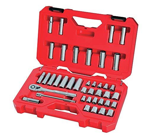 Craftsman Juego de herramientas mecánicas SAE/métrica, 3/8″ Drive 40 piezas (CMMT12018)