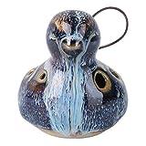 generic ocarina 6 fori alto portatile forma di uccello in ceramica strumento musicale ocarina ocarina regalo per i principianti e prestazioni professionali