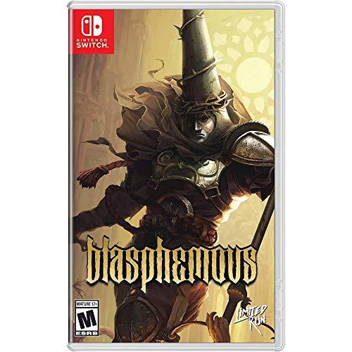 Blasphemous - Edition Limitée (couverture alternative rarissime) - Limited Run - Nintendo Switch