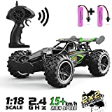 SZJJX RC 2.4Ghz Remote Control Truck 20KM/H High Speed 2WD Off-Road RTR Electric Rock Climber Fast Race Buggy...
