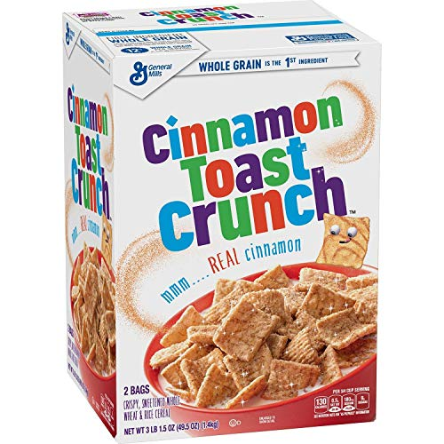 Cinnamon Toast Crunch Cereal 495 oz boxvevo  PACK OF 2