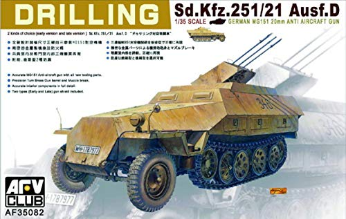Unbekannt AFV-Club 35082 Kit de modélisme SDAuto 251/21 Drilling