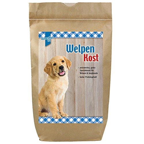 Schecker Welpenfutter 1,5 kg Trockenfutter preiswertes Futter mit Huhn das Welpentrockenfutter hat einen hohen Proteingehalt ist optimal auf die Bedürfnisse der Wachstumsphase abgestimmt