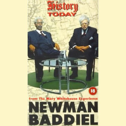 Newman & Baddiel audiobook cover art