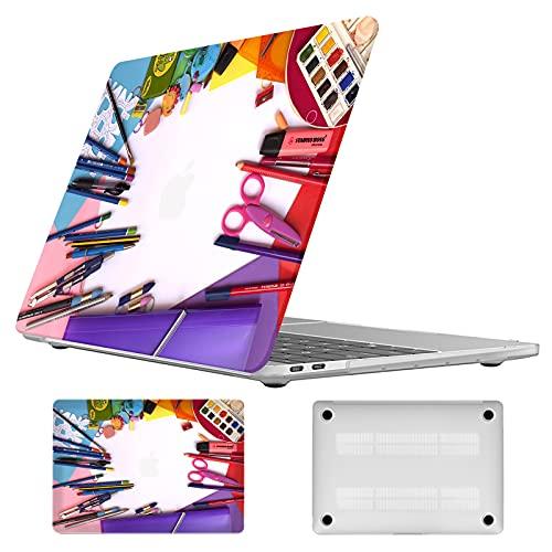 Vozehui Funda rígida para ordenador portátil compatible con MacBook Air de 13...