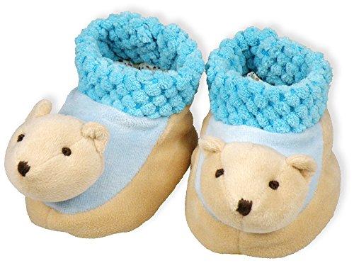 Christliche Geschenkideen °° Baby-Schuhe Bärchen Paul -Du bist geborgen in Gottes Hand