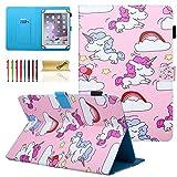 Dteck Schutzhülle für Samsung Galaxy Tablet, Apple iPad, Amazon Kindle, Google Nexus & weitere 16,5-26,7 cm (6,5-10,5 Zoll) Tablet 07 Pink Pony for 9.5-10.5 inch Tablet
