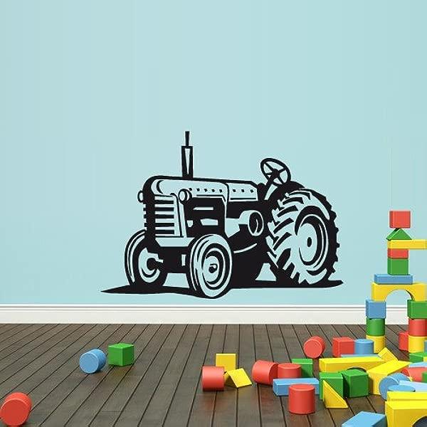 Wall Decal Vinyl Sticker Decals Bedroom Nursery Boys Art Decor Tractor Loader Bulldozer Kids Z2650