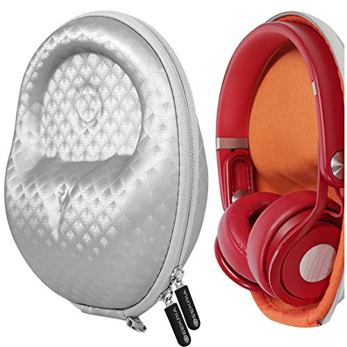 Geekria Funda para Auriculares Mid-Sized Foldable and Non-Fordable Headphone, Estuch Rígido de Transporte, Viaje Bolsa