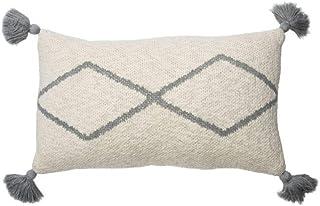 Lorena Canals Cojin Lavable Little Oasis Natural, Gris -100% Algodón Relleno: 100% Polyester- 25x40 cm