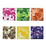 HBSTK confeti de corazones alrededor de 6000 piezas de papel de seda Decoración de mesa de confeti de colores,...
