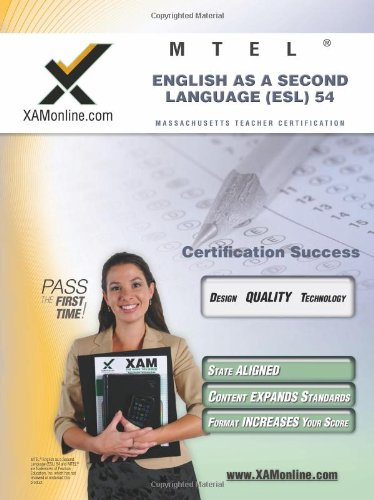 Compare Textbook Prices for MTEL English as a Second Language ESL 54 Teacher Certification Test Prep Study Guide XAM MTEL 1 First Edition, New edition Edition ISBN 0884698908998 by Wynne, Sharon A