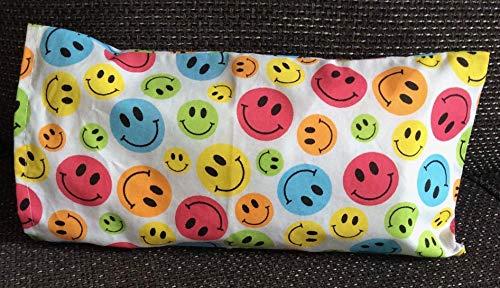 Kuschelkissen Smiley, Wärmekissen,Geschenk Schulanfang, Kinder, Spielkissen, Geschenkidee, Handmade Germany