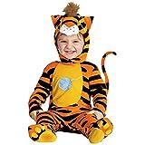 WIDMANN Bebé del gato de tigre Cutie Disfraz infantil de Animal Jungle Farm vestido de lujo