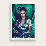 ARTMERLOD Leinwand Poster Rihanna Musik Sänger Superstar