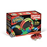 LIGHTNING SPEEDY Nouveau Circuit Looping Inédit Flexible, modulable avec 150 Rails luminescents et...