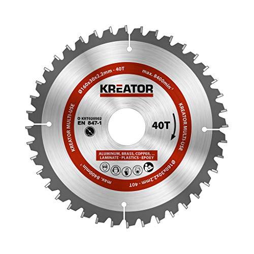 KRT020502 multifunctioneel zaagblad voor cirkelzaag Ø160mm 40 tanden