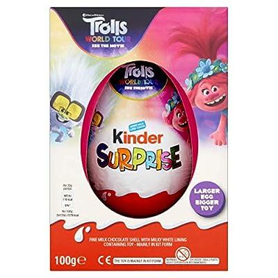 kinder surprise plus chocolate egg, large toy, 100 g Kinder Surprise Plus Chocolate Egg, Large Toy, 100 g 51diYqPwjTL