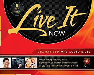Live It Now! Dramatized Audio Bible, MP3 (Audio CD)