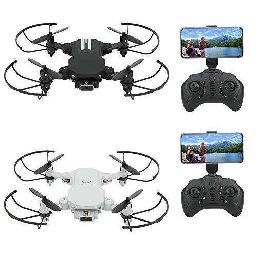Mini Drone Plegable con Cámara de Alta Definición 480P/1080P/4K Professional WiFi RC...