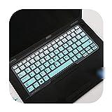Laptop Keyboard Cover Skin for Dell Latitude 5480 5490 7490 3340 E3340 E5490 5491 E5491 E5450 E5470 E7450 E7470 7480 E7480-Fademint-
