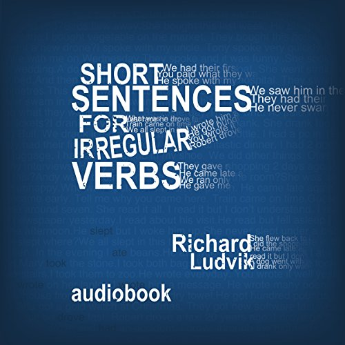 Short sentences for irregular verbs audiobook cover art