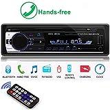 Boomboost autoradio 12V FM In Dash Radio 1 DIN SD/USB AUX Bluetooth Freisprecheinrichtung car Radio