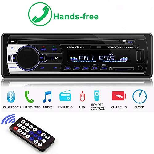 Bluetooth Autoradio 1 DIN 12V Ca...