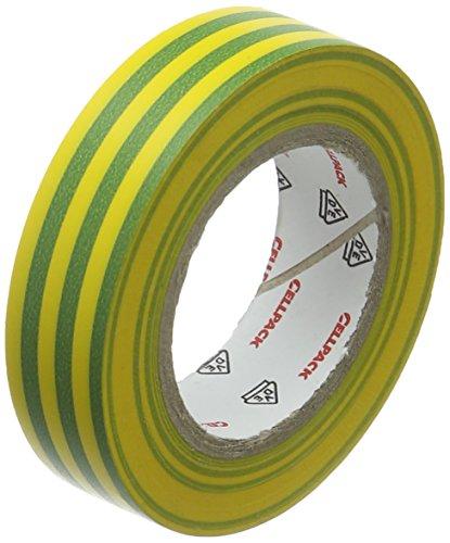 Cellpack 1458231280,15–15–10, PVC Isolierband, grün