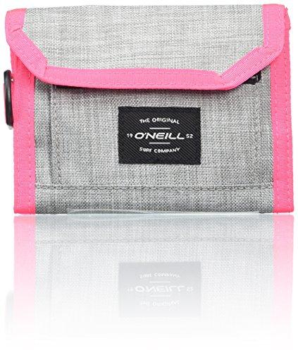 O\'Neill BM Pocketbook Wallet, Bolsas. para Hombre, Gris (Silver Melee), 3x13,5x11 Centimeters (B x H x T)