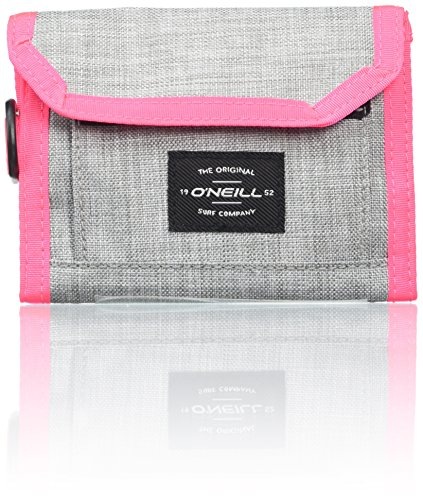 O'Neill BM Pocketbook Wallet, Portefeuilles Homme, Grau (Silver Melee), 3x13,5x11 cm (B x H T)
