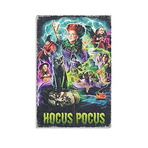 JIAN Poster Hocus Pocus 1993 Poster Decorative Painting Canvas Wall Art Living Room Posters Bedroom Painting 24×36inch(60×90cm)