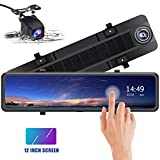 Best Camera Dual Lens - Mirror Dash Cam 1080P Front and Rear Dual Review